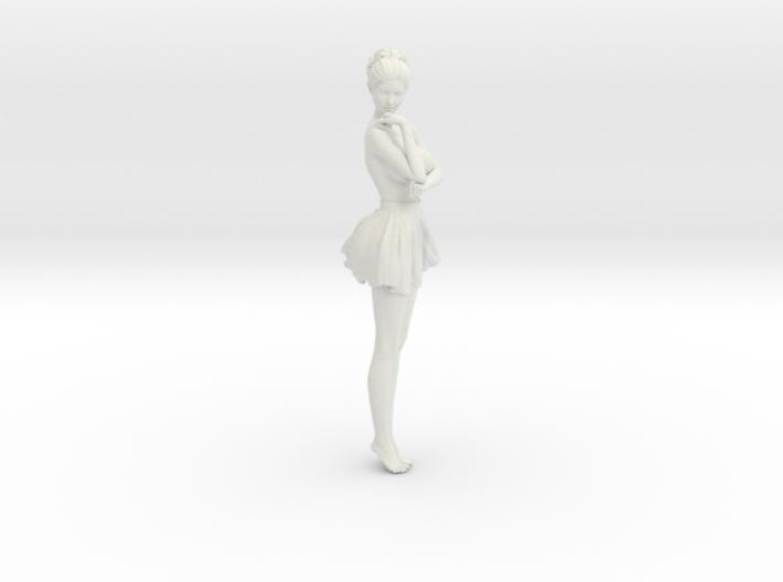 Miniskirt Girl 006-1/10 3d printed