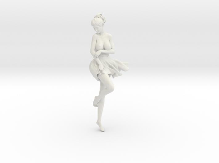 Miniskirt Girl 018-1/10 3d printed