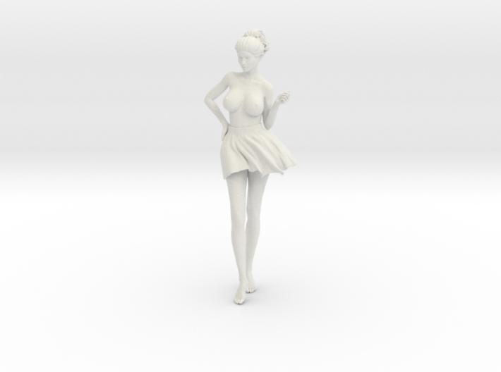 Miniskirt Girl 020-1/10 3d printed