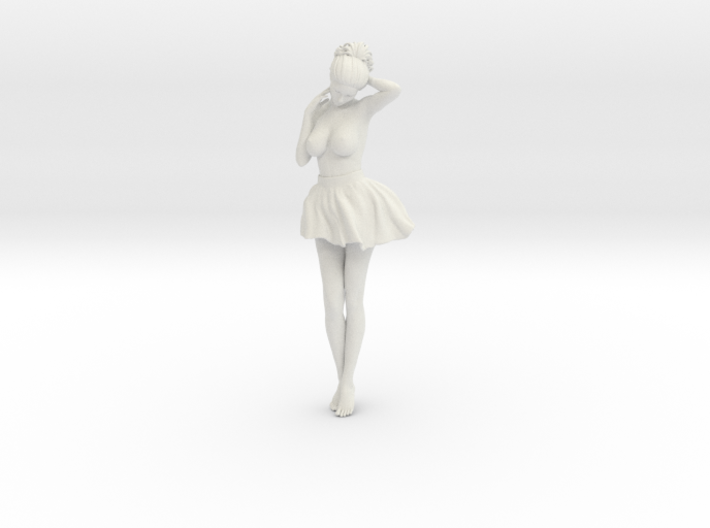 Miniskirt Girl 028-1/10 3d printed