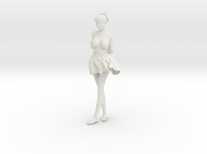 Miniskirt Girl 030-1/10 3d printed