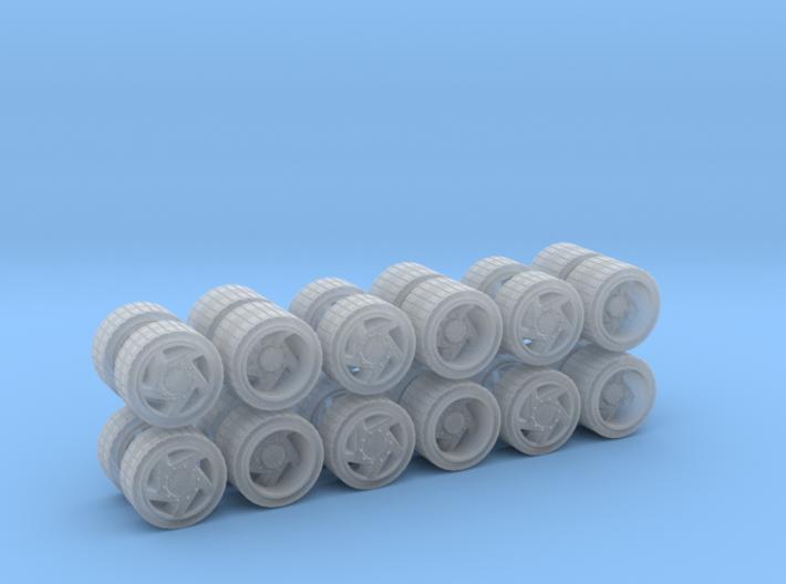 MAN Concept Rad 3 Set 3d printed