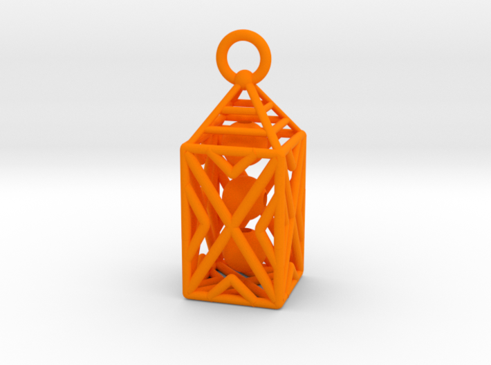 Obelisk Plastic 3d printed