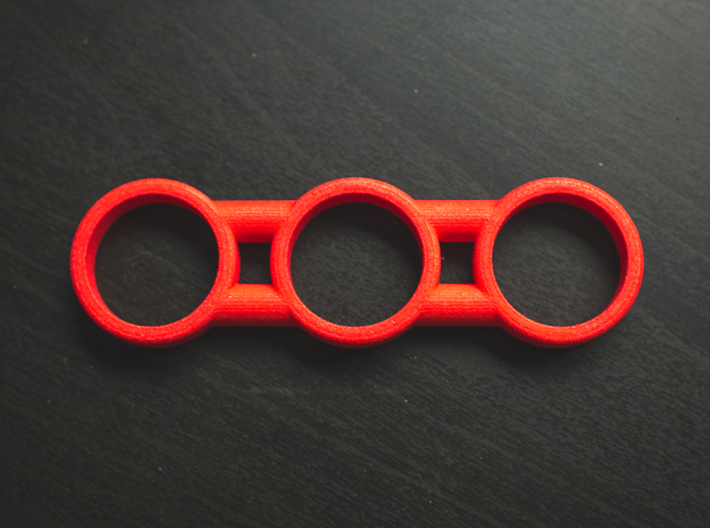The Dars - Fidget Spinner - EDC 3d printed