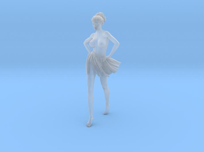 1/24 Miniskirt Girl 001 3d printed