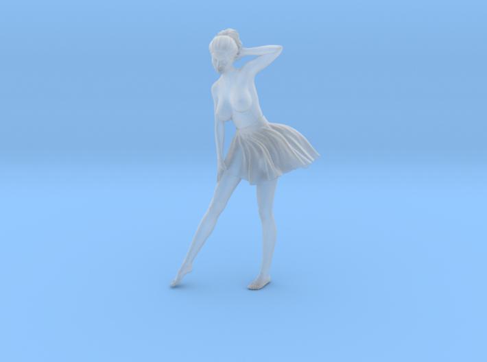 1/24 Miniskirt Girl 012 3d printed