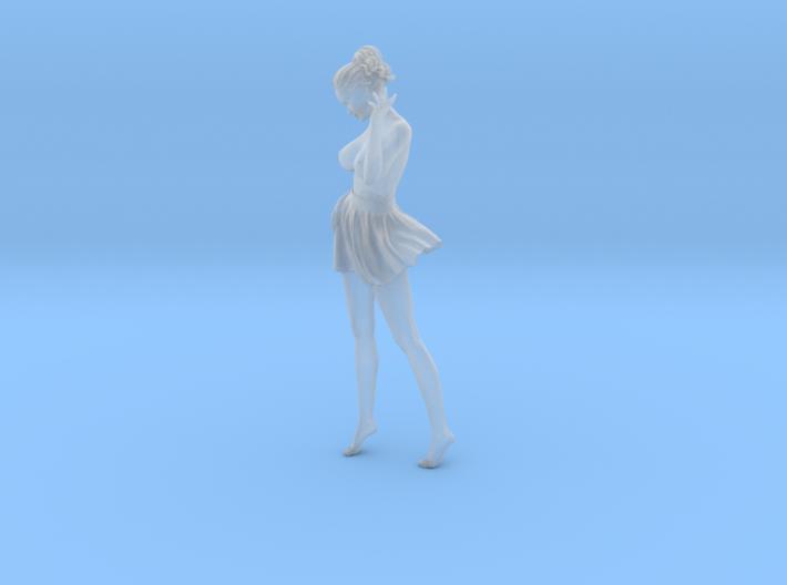 1/24 Miniskirt Girl 015 3d printed