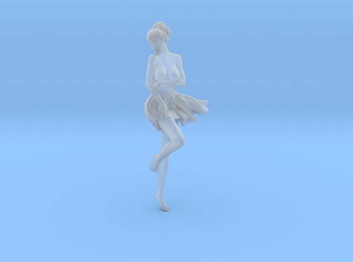 1/24 Miniskirt Girl 018 3d printed
