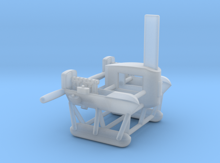 North Sea Class NS 11  of WW1 1/350 scale 3d printed Engine Car detail