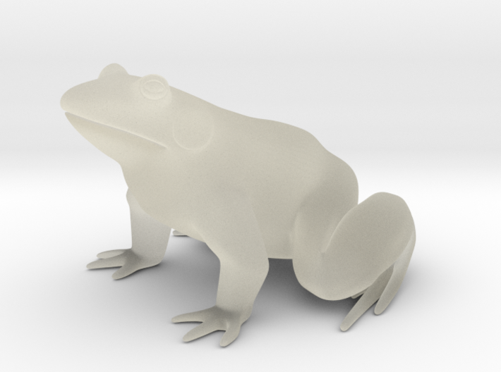 Frog, for acrylic plastic 3d printed