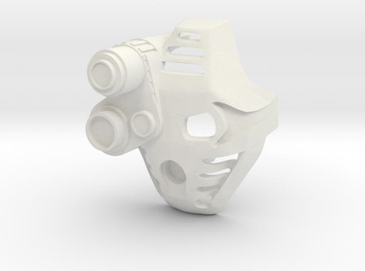 Kanohi Pakari With Lens 3d printed