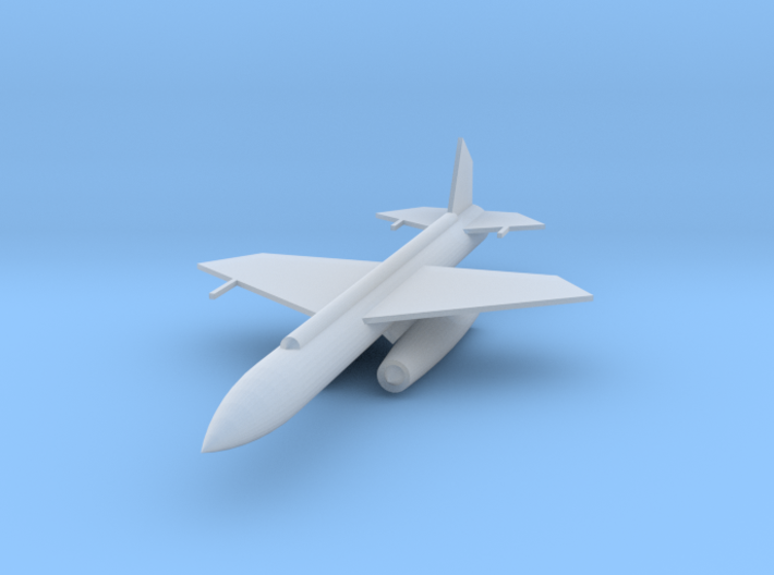 144 Scale CIM-10 Bomarc Missile 3d printed