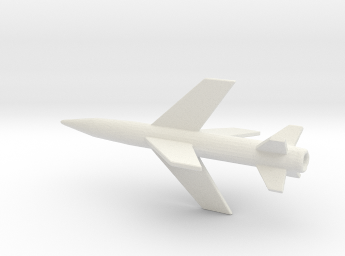 1/200 Scale Lacrosse Missile 3d printed