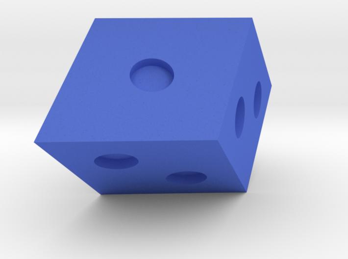 Rhombohedral D6 3d printed