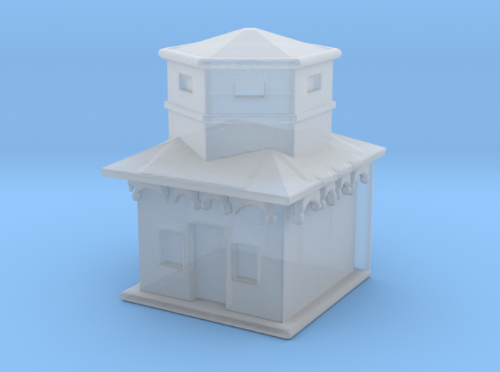 House for Diorama 3d printed