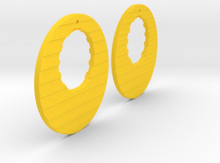 Earring Model R 3d printed