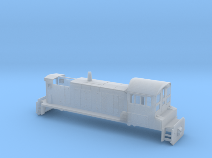 Sw1001- 4 window cab 3d printed