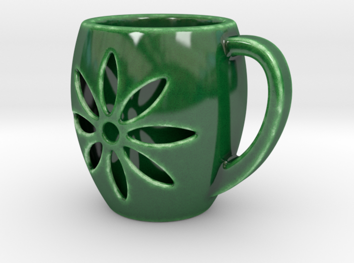 Double Wall Cup - Handle 3d printed