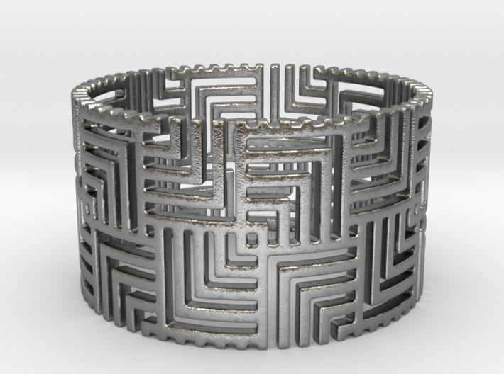 Nexus Ring (Size 11.25-13) 3d printed
