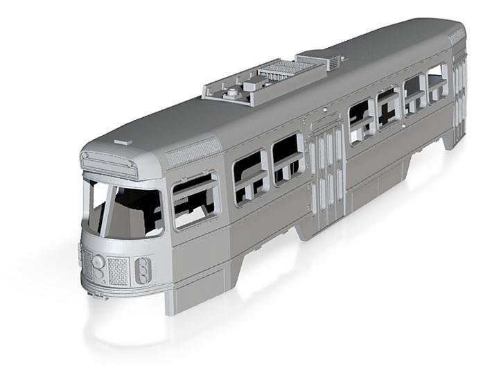 N Scale Toronto CLRV Trolley Body 3d printed
