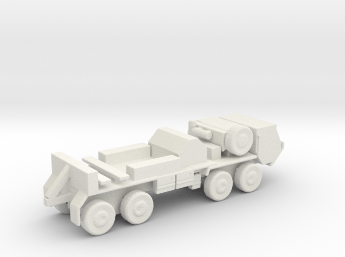 1/200 Scale HEMMT M-984 Wrecker 3d printed