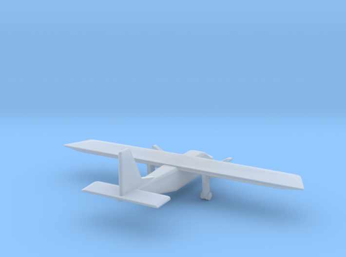 1:500 Britten-Norman BN-2 Islander 3d printed
