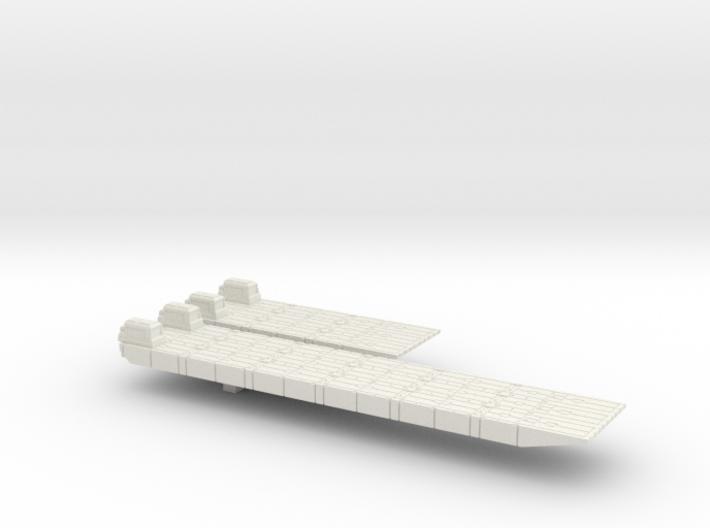 1/600 Scale British Army Mexeflote Powered 3d printed