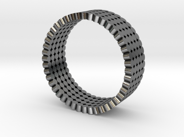 Solid Picot Ring 3d printed
