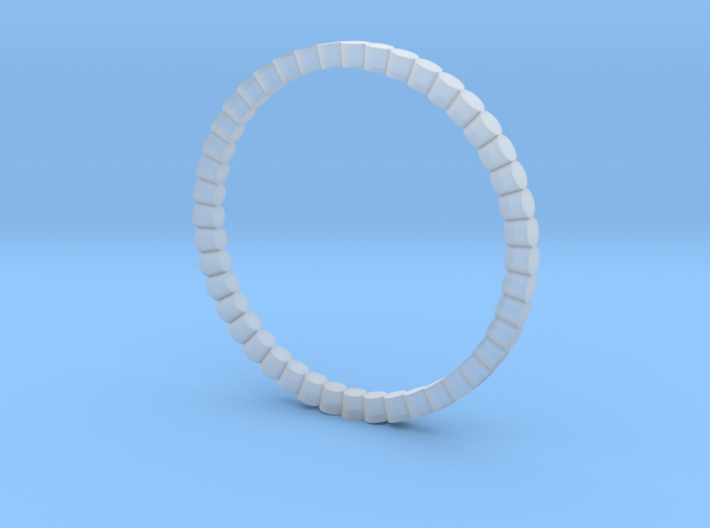 Solid Picot Stacking RIng 3d printed