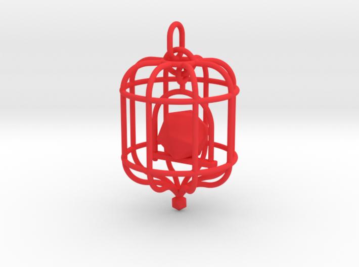 Platonic Birds - Icosahedron 3d printed