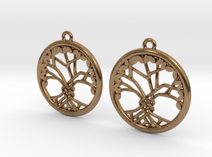 Tree Of Life Earrings 3d printed