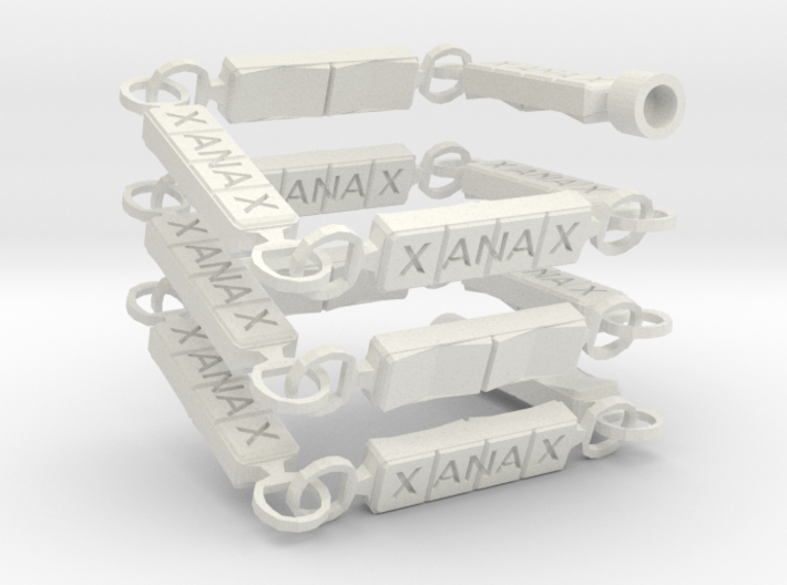 Xanny Necklace 3d printed