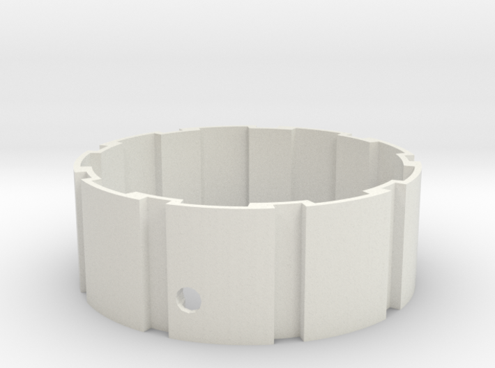 Hyperglide / belt-drive cog interface 3d printed