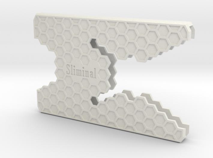 "Sliminal ""Hive"" (6 Cards) 3d printed"