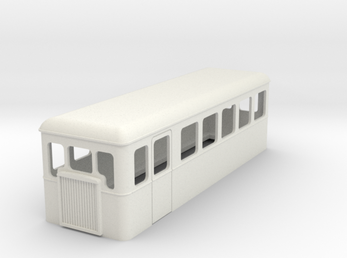 TTn3 double ended railcar 3d printed
