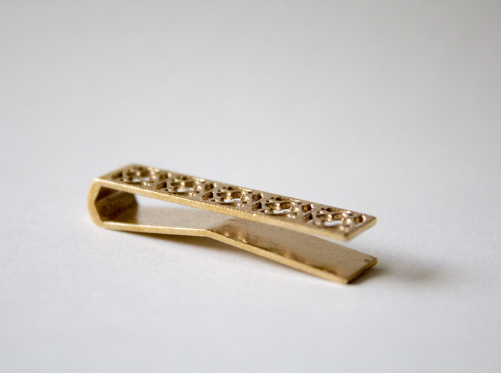 Gothic Tie Bar - 1.5 in 3d printed