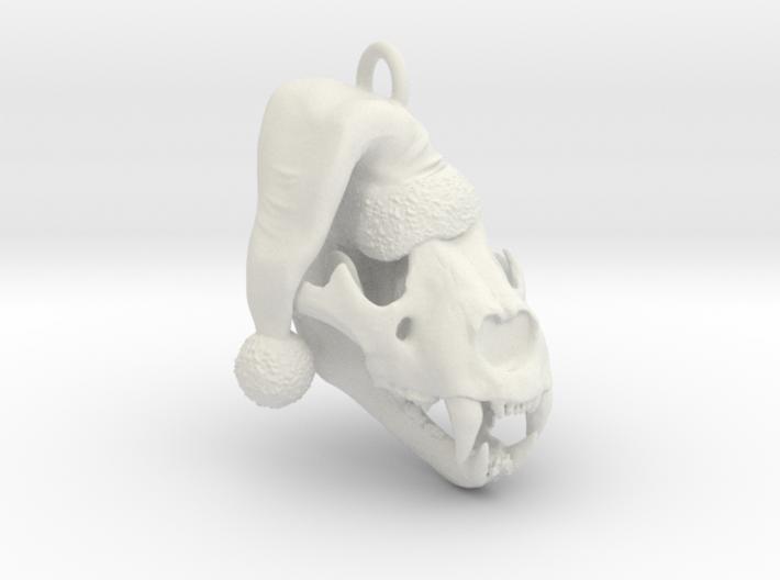 Panthera spelaea Christmas 3d printed