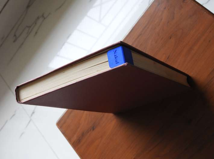 Bookclip small 3d printed