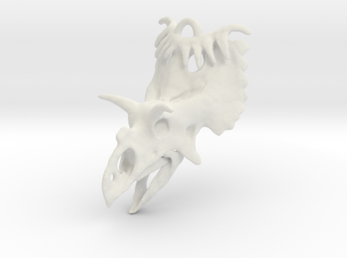 Kosmoceratops Ornament 3d printed