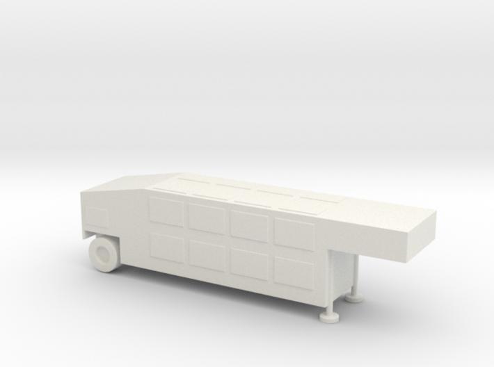 1/144 Scale THAAD AN TPY-2 CEU 3d printed
