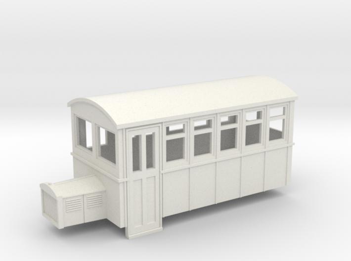 TTn3 4 wheeled railbus version 1 3d printed
