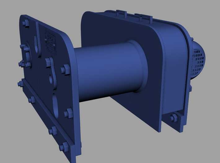 1/24 Patterson Facing Winch KIT 3d printed