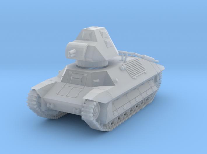 PV146D FCM 36 Light Tank (1/144) 3d printed