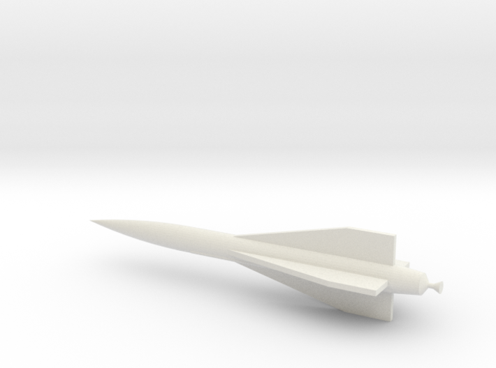 Hawk Missile 3d printed