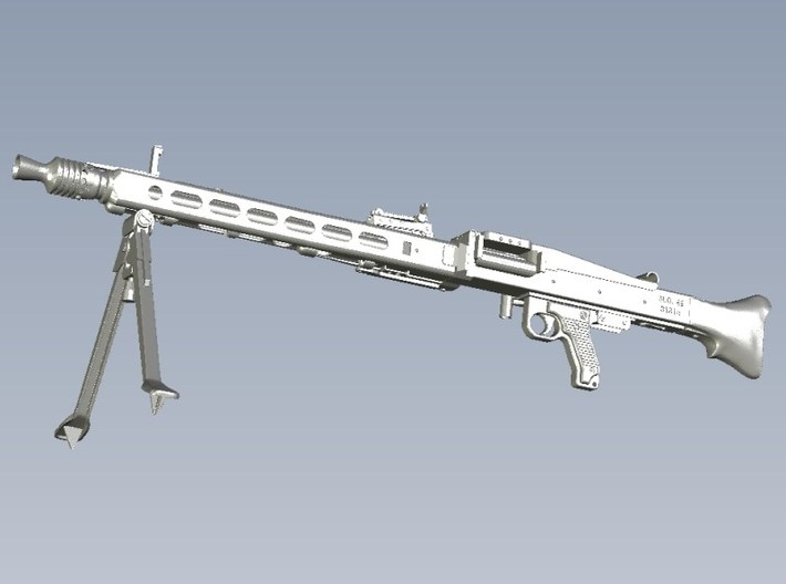 1/4 scale WWII Wehrmacht MG-42 machinegun x 1 3d printed