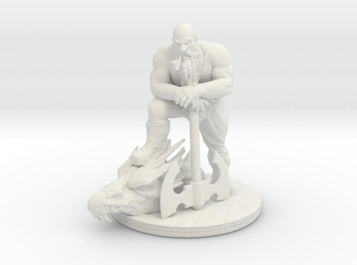 Dwarf Slayer 5in 3d printed