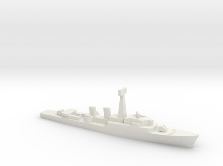 Tribal-class frigate, 1/1800 3d printed