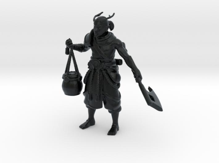 Elf Primal Barbarian 3d printed