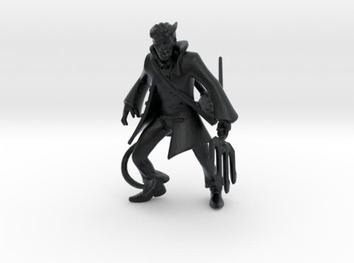 Tiefling Warlock 3d printed