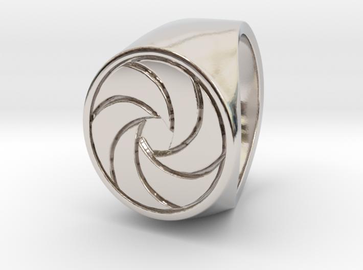 Paul F. - Signet Ring 3d printed Paul F. - Signet Ring - US 6